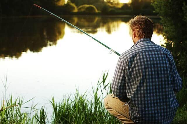 Angler am See