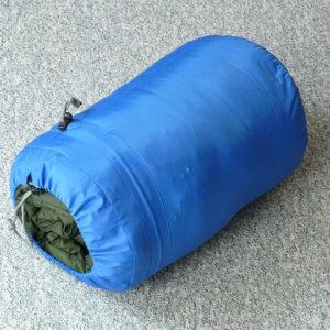 Schlafsack zum Angeln