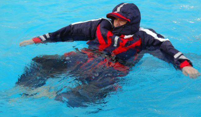 Behr Schwimmanzug Seabehr Floatinganzug Jacke und Hose 2-teilig Norwegen Angelsport