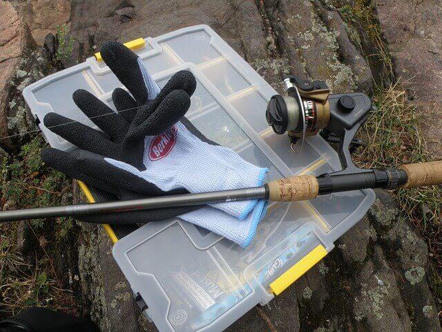 Handschuhe zum Angeln