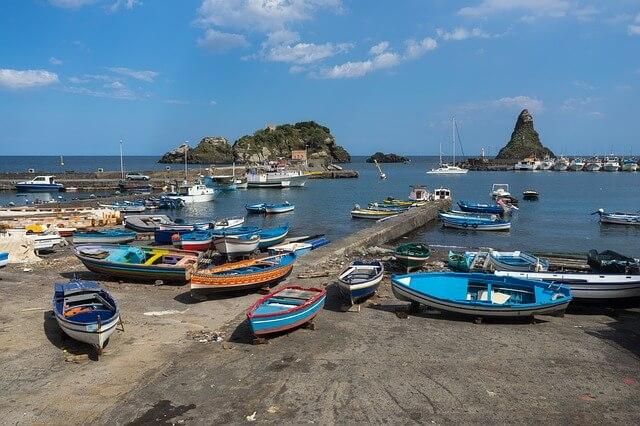 Angeln auf italienischer Insel