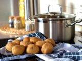 Angeln mit Kartoffeln